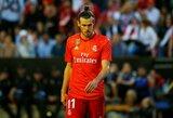 """G.Bale'o ateitis  - ant """"Real"""" atsarginių suolo?"""