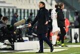 """Itališkos emocijos: A.Conte vidurinis pirštas """"Juventus"""" prezidentui – pastarasis neliko skolingas"""