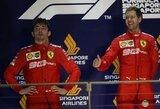 C.Leclercas ir L.Hamiltonas po lenktynių skundėsi savo komandų strategijomis