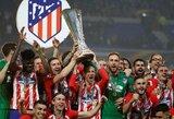 "A.Griezmannas pelnė dublį, ""Atletico"" tapo Europos lygos nugalėtojais"