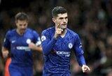 """Jaunųjų futbolininkų vedami """"Chelsea"""" pakilo tarp """"Premier"""" lygos lyderių"""