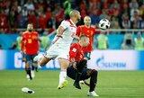 Su Maroku vargę ispanai tik VAR dėka sužaidė lygiosiomis, bet užsitikrino vietą aštuntfinalyje
