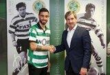 """""""Sporting"""" strategas M.Keizeris pripažino, jog klubui gali nepavykti išsaugoti B.Fernandeso"""