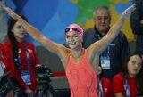 J.Jefimova pribloškė plaukimo pasaulį: krito du R.Meilutytės rekordai