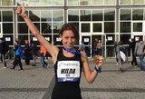 Pirmą kartą maratoną bėgusi M.Vilčinskaitė įvykdė pasaulio čempionato normatyvą