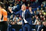 """Š.Jasikevičius įvertino gausiai į Vilnių atvykusius """"Žalgirio"""" fanus: """"Jie žaidėjams suteikė labai daug energijos"""""""