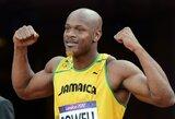 """Dopingą vartoję sprinteriai A.Powellas ir S.Simpson: """"Mes nepasitrauksime iš lengvosios atletikos"""""""