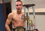 Varžovą nokautavęs M.Narauskas užsijuosė IKBF čempiono diržą!