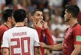 """J.Fonte: """"C.Ronaldo gali turėti išeiginę"""""""