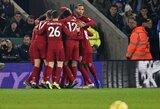 """Įspūdinga: """"Leicester City"""" svečiuose sutriuškinęs """"Liverpool"""" padidino atotrūkį iki 13 taškų"""