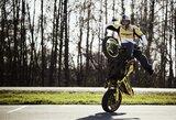 Geriausias šalies motoakrobatas A.Gibieža Europos taurės varžyboms Lietuvoje ruošia įspūdingą programą