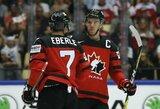 Švedai pasaulio čempionate vėl pavijo rusus, kanadiečiai sutriuškino šeimininkus