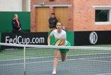 Abi lietuvės pasitraukė iš moterų teniso turnyro Egipte