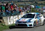 S.Ogieras laimėjo Prancūzijos ralį, S.Loebas finišo nepasiekė