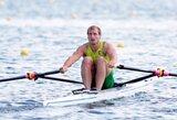 Pasaulio irklavimo taurės etape Šveicarijoje M.Griškonis tęsia sėkmingą pasirodymą