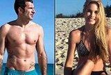 Komentarų apie savo žmoną sulaukęs L.Figo susitaikė su Ronaldo