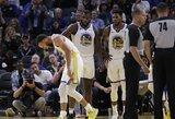 """""""Warriors"""" žvaigždei S.Curry lūžo ranka"""