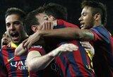 """Be staigmenų: """"Barcelona"""" ir PSG iškovojo kelialapius į Čempionų lygos ketvirtfinalį"""