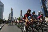 Dviratininkas T.Vaitkus Dubajuje vykstančiose lenktynėse finišavo penktas