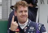 """Pratęsta sutartis su """"Red Bull"""" atvers S.Vetteliui duris į """"Ferrari""""?"""