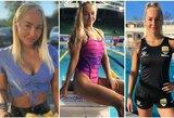 """Sekėjus blokuojanti A.Jegorova: """"Geriau būčiau Rusijos plaukimo viltis, o ne sekso simbolis"""""""