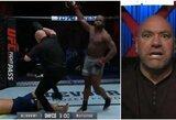"""D.White'as po įspūdingo nokauto pakvietė kamerūnietį į UFC: """"Jis man primena M.Tysoną"""""""
