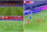 Pasaulio čempionato atrankoje – nesiklaupę lenkai, Kosovo nepripažįstantys ispanai ir neįtikėtina T.Wernerio klaida