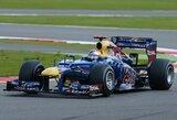 """S.Vettelis: """"Daug laiko praradau pirmoje lenktynių atkarpoje"""""""