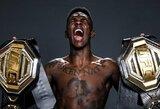 I.Adesanya UFC čempiono titulą gins prieš tris pralaimėjimus per keturias kovas patyrusį Y.Romero