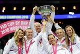 """Čekijos moterų teniso rinktinė nepaliko vilčių amerikietėms ir susigrąžino """"FedCup"""" titulą"""