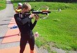 T.Kaukėnas atvirame Europos vasaros biatlono čempionate – 9-as
