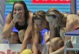 Pasaulio plaukimo čempionate krito 10 metų gyvavęs planetos rekordas, J.Jefimova į finalą pateko su geriausiu rezultatu
