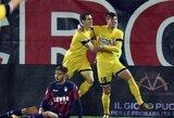 """Italijos """"Serie A"""": triuškinanti """"Udinese"""" pergalė bei """"Genoa"""" triumfas Veronoje"""