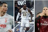 """""""Lakers"""" žvaigždė L.Jamesas įvardijo savo mėgstamiausius futbolininkus"""
