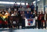 Lietuvos ir Rusijos Muay Thai kovotojų susitikimas baigėsi lygiosiomis