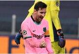 """""""Barcelona"""" įgėlė """"Juventus"""" klubui: """"Džiaugiamės, kad savo aikštėje galėjote pamatyti geriausią pasaulio futbolininką"""""""