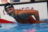 """R.Meilutytei iššūkį metusi nauja pasaulio rekordininkė J.Jefimova: """"Rekordą pagerinau neapšilusi ir jausdama nuovargį"""""""