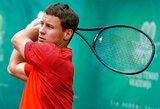 """Po legendinės V.Williams į kortą žengsiantis R.Berankis """"Roland Garros"""" startuos jau sekmadienį"""