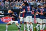 """Dešimtyje rungtyniauti likęs PSG svečiuose susitvarkė su """"Ligue 1"""" vidutiniokais"""