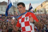 """Kroatijos rinktinės treneris Z.Daličius: """"Mums jau reikia pamiršti apie M.Mandžukičių"""""""