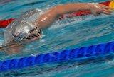Lietuvos plaukimo čempionate Anykščiuose pagerintas dar vienas šalies rekordas