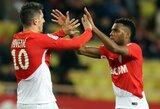 """Prancūzijos """"Ligue 1"""": """"Monaco"""" sutriuškino lygos autsaiderius"""