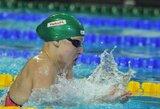R.Meilutytė Anglijoje triumfavo 100 m plaukimo krūtine rungtyje!