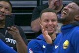 """Pamatykite: """"Kings"""" pasijuokė iš S.Curry mėnulio istorijos"""