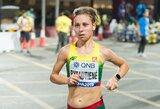 Pragariškas karštis ir drėgmė: moterų maratono neįveikė beveik pusė dalyvių, tarp kurių ir lietuvė M.Bytautienė