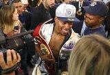 """Kovos dėl pasaulio čempiono diržo išvakarės: """"AT&T"""" stadione laukiama bent 50 tūkst. bokso gerbėjų"""