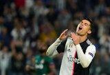 """M.Sarri paaiškino, kodėl neįtraukė C.Ronaldo į rungtynes su """"Lecce"""""""