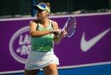 """""""Australian Open"""" čempionė po daugiau nei mėnesio pertraukos iškovojo pergalę WTA turnyre"""