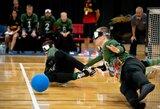 Įspūdingai atsitiesusi Lietuvos golbolo rinktinė iškovojo Europos čempionato bronzą