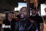 Save geru imtynininku laikantis F.Mayweatheris papasakojo, kiek laiko žada ruoštis debiutui MMA
